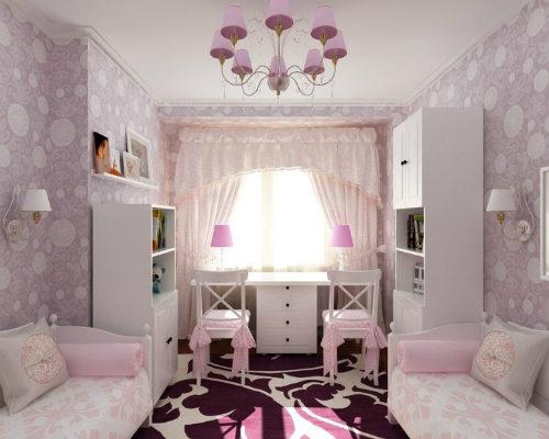 Детская комната для девочки 1