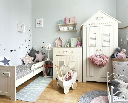 Дизайн детской комнаты для девочки 2