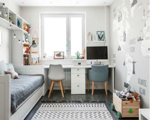 Дизайн детской комнаты для девочки 3