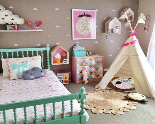 Дизайн детской комнаты для девочки 6