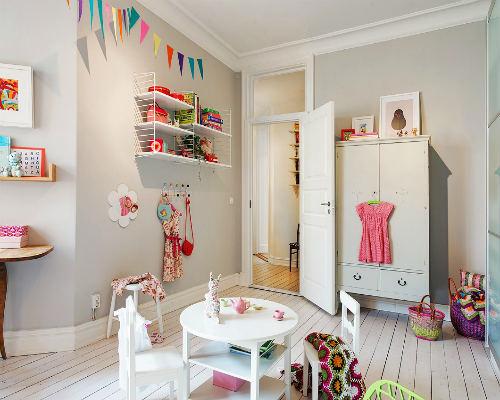 Дизайн детской комнаты для девочки 8