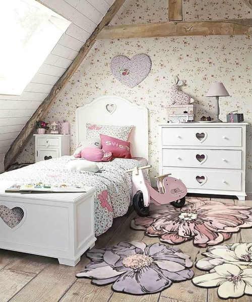 Дизайнерские идеи детских комнат для девочек 4