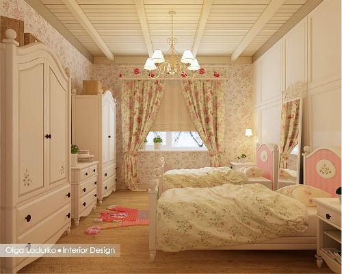 Дизайнерские идеи детских комнат для девочек 5