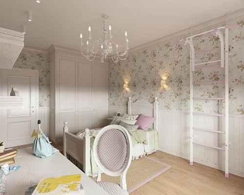 Дизайнерские идеи детских комнат для девочек 7