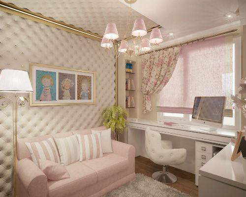 Детская комната для девочки 3