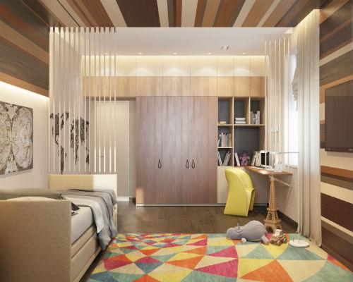 Дизайнерские идеи детских комнат для девочек 10