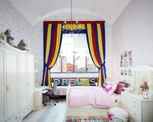 Выбираем стиль детской комнаты для девочек 7