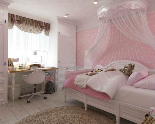 Детская комната для девочки 4