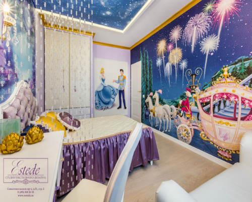Выбираем стиль детской комнаты для девочек 9