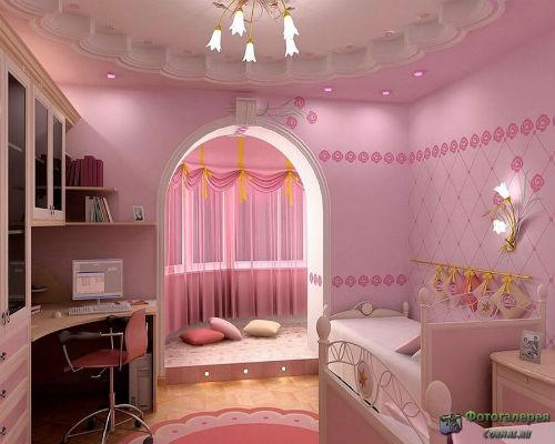 Детская комната для девочки 5