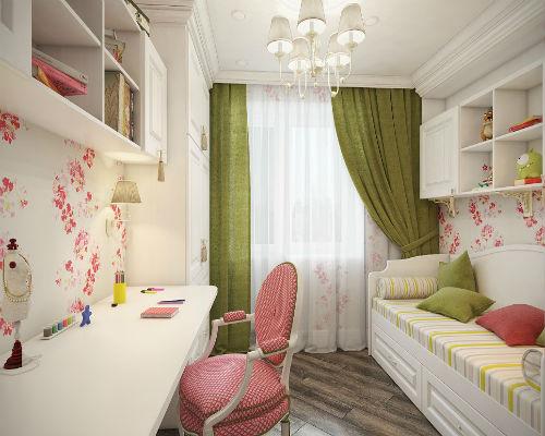 Детская комната для девочки 6