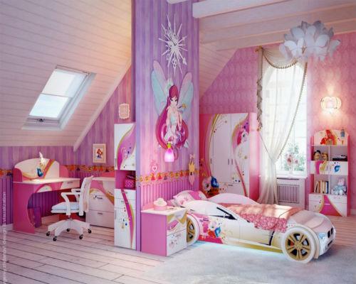 Детская комната для девочки 7