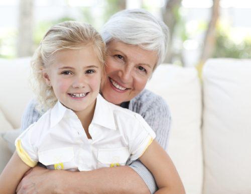 бабушки в воспитании