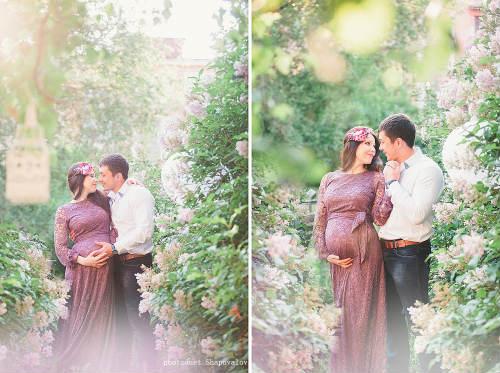 Идеи для фотосессии беременных, творческий подход 2
