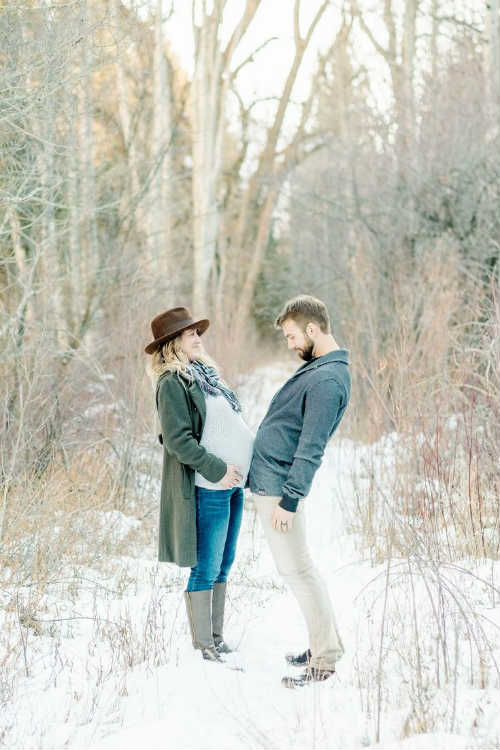 Идеи для фотосессии беременных с мужем 3