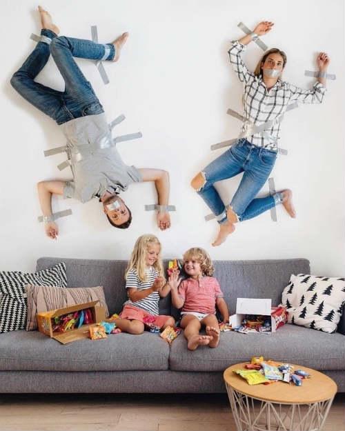 Крутые идеи для семейной фотосессии с детьми 5