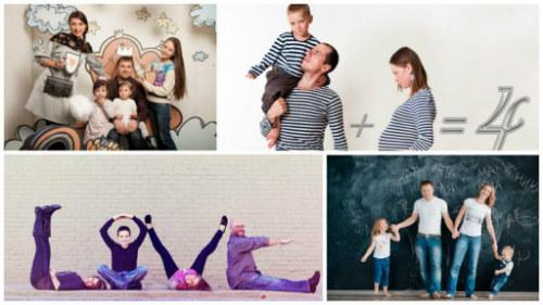 Крутые идеи для семейной фотосессии с детьми 6