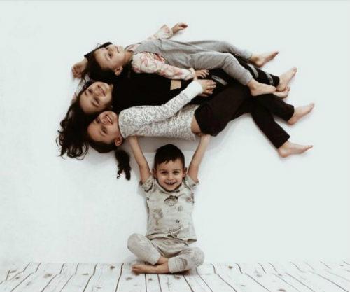 Вдохновляющие идеи для домашней фотосессии с детьми 3