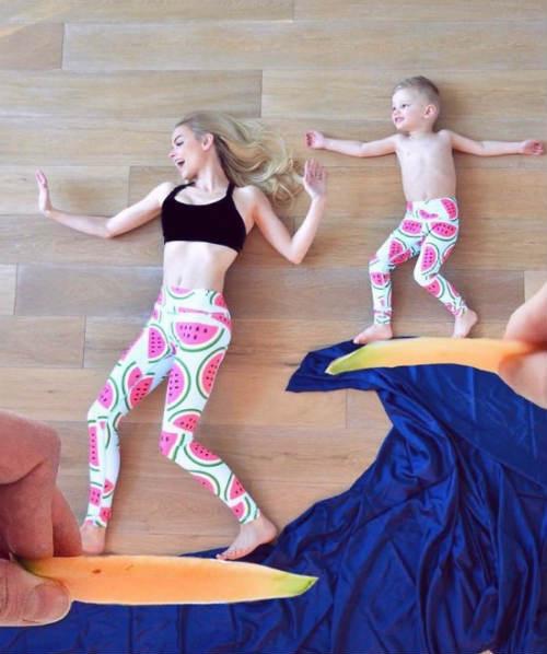 Вдохновляющие идеи для домашней фотосессии с детьми 5