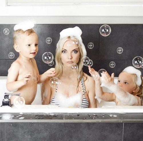 Вдохновляющие идеи для домашней фотосессии с детьми 6