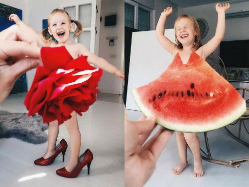 Вдохновляющие идеи для домашней фотосессии с детьми 10