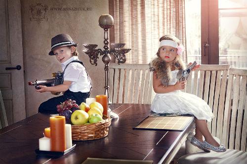 Вдохновляющие идеи для детской фотосессии в студии 5