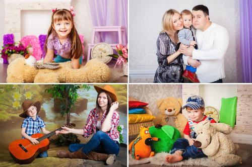 Вдохновляющие идеи для детской фотосессии в студии 8