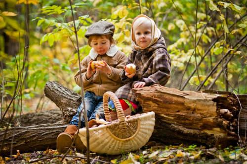 Идеи для детской фотосессии на природе 1