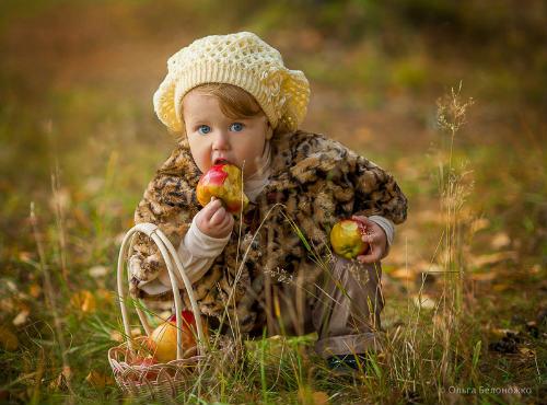 Идеи для детской фотосессии на природе 2