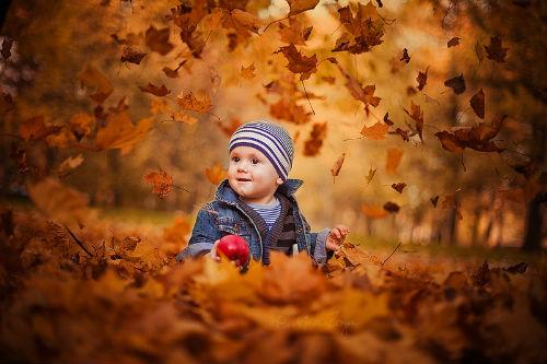 Идеи для детской фотосессии на природе 3