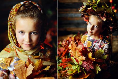 Идеи для детской фотосессии на природе 4
