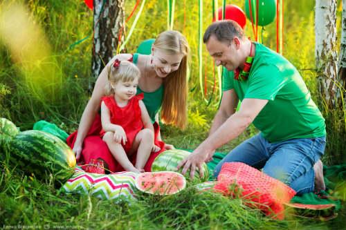 Идеи для детской фотосессии на природе 6