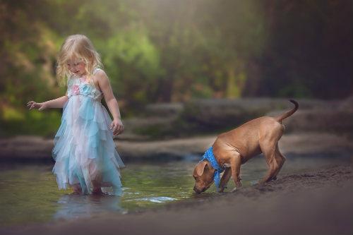 Идеи для детской фотосессии на природе 7