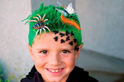 Детские прически, которые развеселят: насекомые