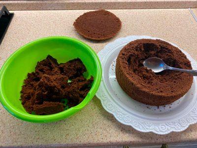вкусный бисквит в мультиварке или в духовке 7