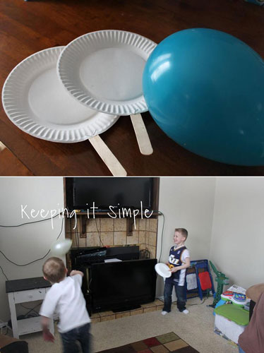 банбинтон для дома - игра для детей
