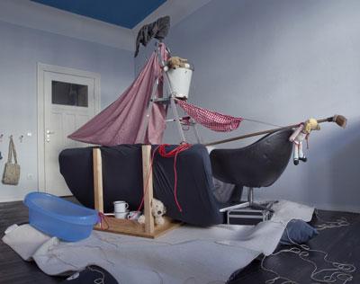 Чем заняться ребенку дома, когда скучно: корабль