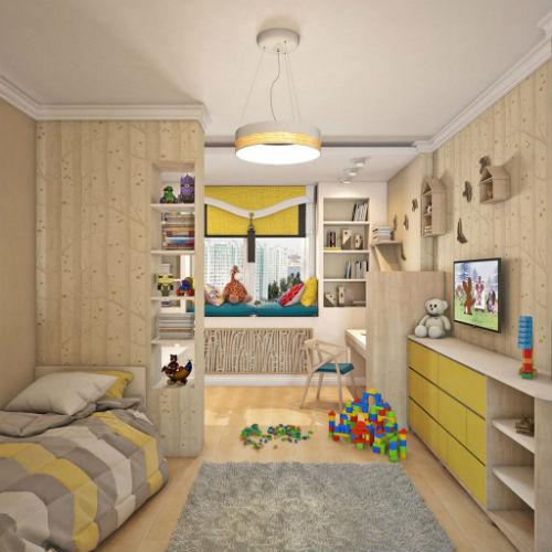 Цвета для детской мальчика. Как выбрать лучший цвет для детской комнаты 3