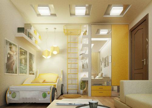 Цвета для детской мальчика. Как выбрать лучший цвет для детской комнаты 5