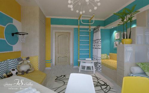 Цвета для детской мальчика. Как выбрать лучший цвет для детской комнаты 8