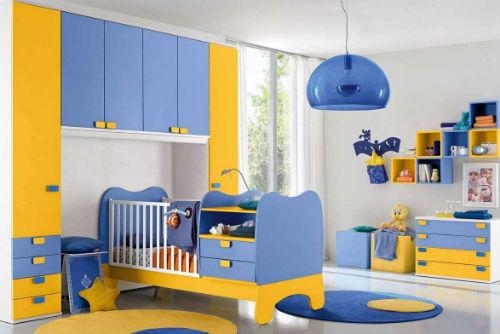 Цвета для детской мальчика. Как выбрать лучший цвет для детской комнаты 9