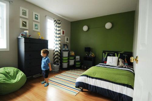 Правильное сочетание цветов и оттенков в детской для мальчика 10