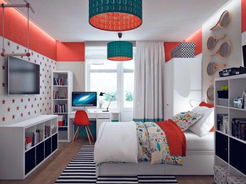 Как не ошибиться при выборе цвета для детской комнаты для мальчика 7