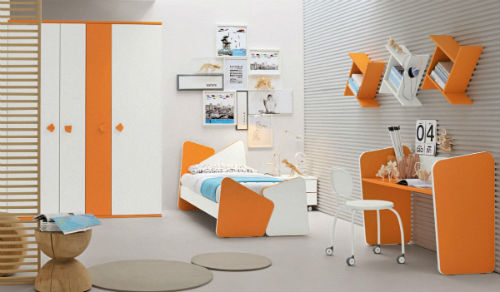 Варианты выбора и сочетания цветов для детской комнаты для мальчика 4