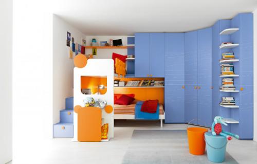 Варианты выбора и сочетания цветов для детской комнаты для мальчика 5
