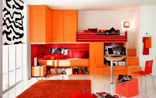 Варианты выбора и сочетания цветов для детской комнаты для мальчика 6