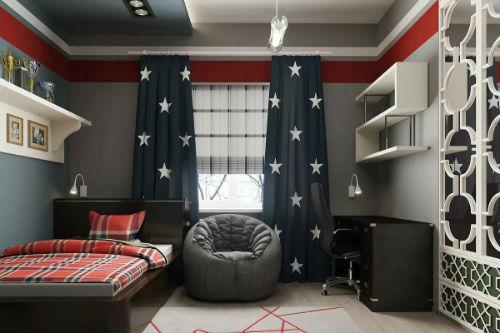 Варианты выбора и сочетания цветов для детской комнаты для мальчика 8