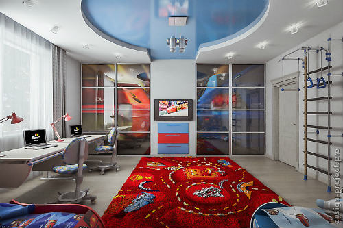 Цветовая гамма для комнаты для мальчика. Основные критерии выбора цвета для детской 5