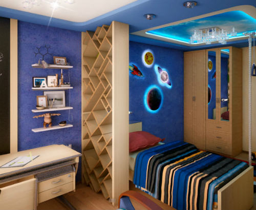 Как оформить детскую комнату для мальчика 4