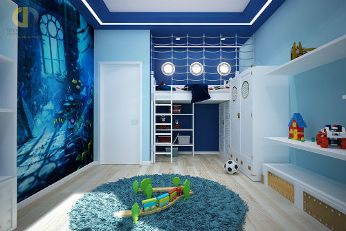 Как оформить детскую комнату для мальчика 5